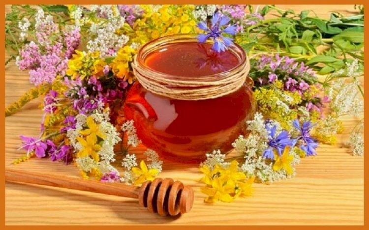 نفخ الخدود بالعسل